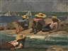 Winslow Homer, CHILDREN ON THE BEACH (WATCHING THE TIDE GO OUT; WATCHING THE BOATS)