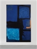 Patrick Heron, VERTICAL BLUE AND INDIGO :