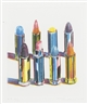 Wayne Thiebaud, Eight Lipsticks