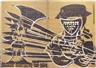 Hap Grieshaber, Der Engel der Geschichte Nr. 22