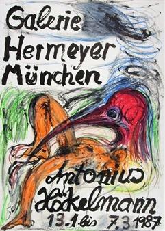 Ohne Titel By Antonius Höckelmann ,1987