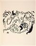 Wassily Kandinsky, 2 works: Jüngster Tag/Improvisation