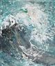 Maggi Hambling, Splintering Wave