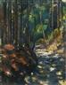 Anton Faistauer, A FOREST PATH