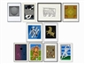 Victor Vasarely, Collection of 10 Serigraphs