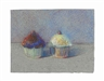 Wayne Thiebaud, Two Cupcakes