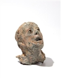 Untitled (Head with Glass Eyes and Tin Teeth)
