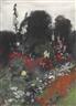 John Singer Sargent, Corner of a Garden