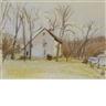 Wolf Kahn, The Thompson House in Setauket