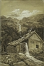 Carl Gustav Carus, WATERMILL ON A MOUNTAINSIDE (EIN MÜLLER-LIED)