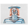 Wayne Thiebaud, Clown, from Recent Etchings I