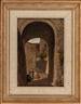 Elihu Vedder, 2 Works : Geese ; Archway with Woman