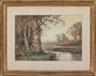 William Trost Richards, Autumn Landscape with Stream