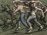 Peter Howson, BAND OF BROTHERS