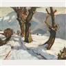 Jack Bush, ROADWAY IN WINTER