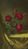 Martin Johnson Heade, STILL LIFE WITH FLOWERS: RED ROSES