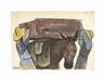 Diego Rivera, Pareja cargando burros