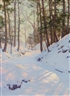 Snowy landscape scene by Walter Launt Palmer fetches $132,000 at Shannon's