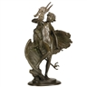 Frederick William MacMonnies, Young Faun with Heron