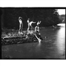 Thomas Eakins, 2 works: Study for The Swimming Hole; Boys Boxing