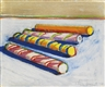 Wayne Thiebaud, CANDY CANES