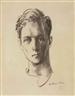 Pavel Tchelitchew, Portrait of Glenway Wescott (1901-1987)