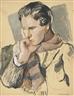 Pavel Tchelitchew, Portrait of Allen Tanner