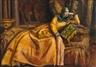 Emile Bernard, Odalisque en robe, Sarah Bernhardt