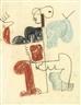 Le Corbusier, STUDIE ZU DIVINITÉS MARINES