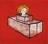 Yoshitomo Nara, Cardboard Tank - 2