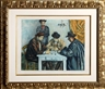 Paul Cézanne, Jacques Villon, Les Joueurs des Cartes (The Card Players)