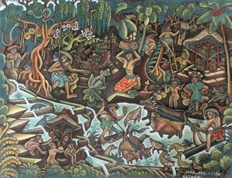 Batuan By Ida Bagus Made Widja
