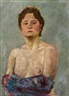 Max Klinger, Female semi-nude