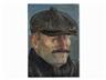 Volker Stelzmann, Self Portrait