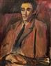 David Bomberg, Portrait of Leslie Marr