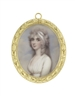 Portraits of the 'It Girl' of her time in the early 19th century and her lovely mother for sale at Bonhams Portrait Miniatures Sale