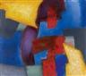 Fritz Winter, vor Blau