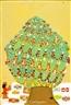 Clementine Hunter, Christmas Tree