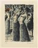 Paul Delvaux, La danse