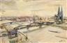 Anton Räderscheidt, Ohne Titel (Ansicht von Köln)