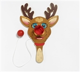 Paddle Ball Game. Rudolf the rednosed Reindeer