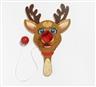 Jeff Koons, Paddle Ball Game. Rudolf the rednosed Reindeer