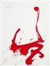 Markus Prachensky, Rot auf Weiß