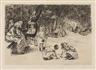 Max Liebermann, Spielende Kinder