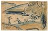 Otto Mueller, Badende am See (Meereslandschaft)
