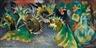 Heinrich Nauen, Sonnenblumen mit welker Kresse