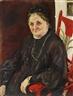 Max Slevogt, Bildnis der Schwiegermutter Fr. d'Andrades
