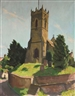 William John Leech, The Church at Thornton-Le-Dale, Yorkshire