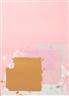 John Hoyland, Brown Block on Pink