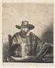 Rembrandt van Rijn, Cornelis Claesz. Anslo, Preacher